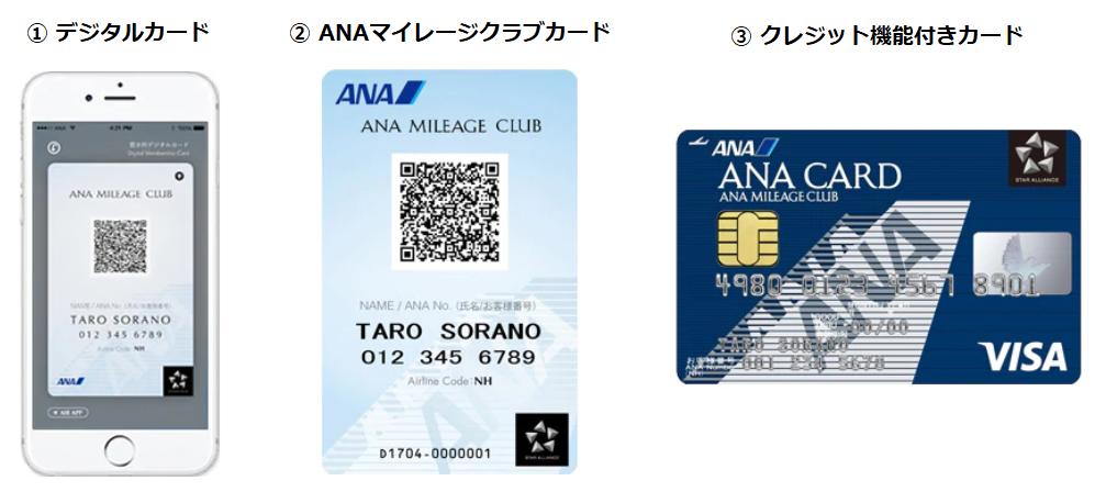 ANAマイレージクラブ カードタイプ
