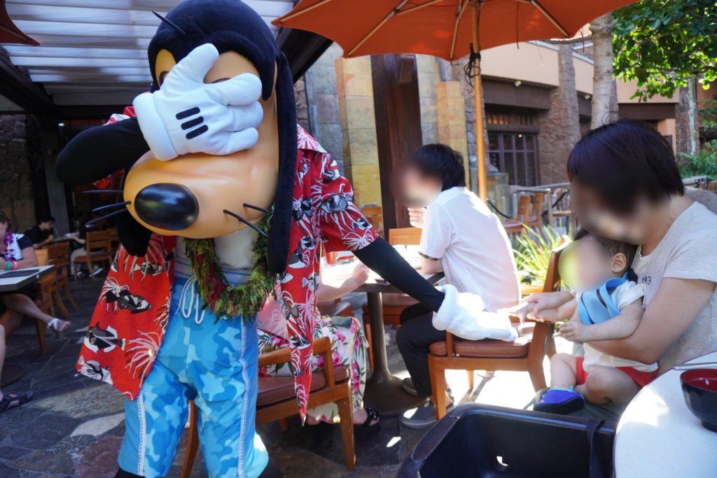 アウラニ・ディズニー マカヒキ キャラクターブレックファースト グーフィー