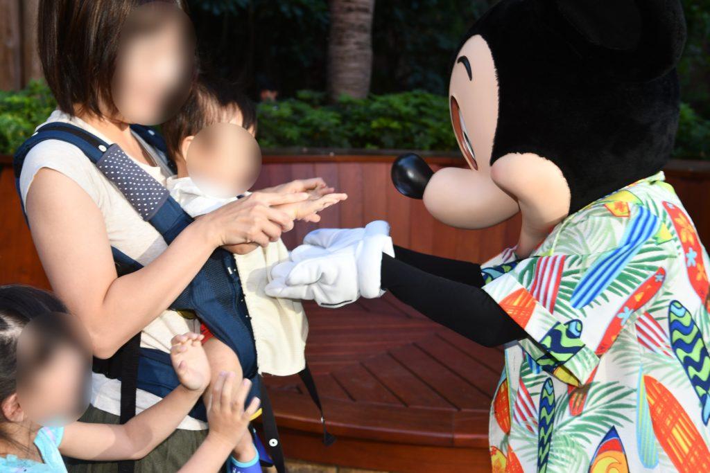 アウラニ・ディズニー マカヒキ キャラクターブレックファースト ミッキー お出迎え3