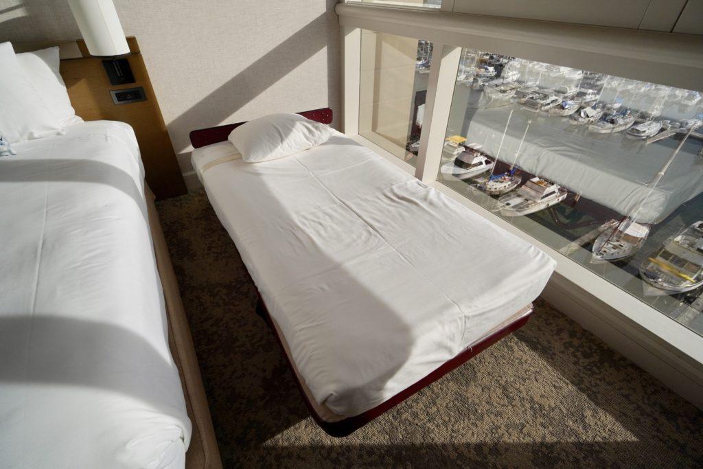 プリンス・ワイキキ オーシャンフロントハーバールーム 子供ベッド