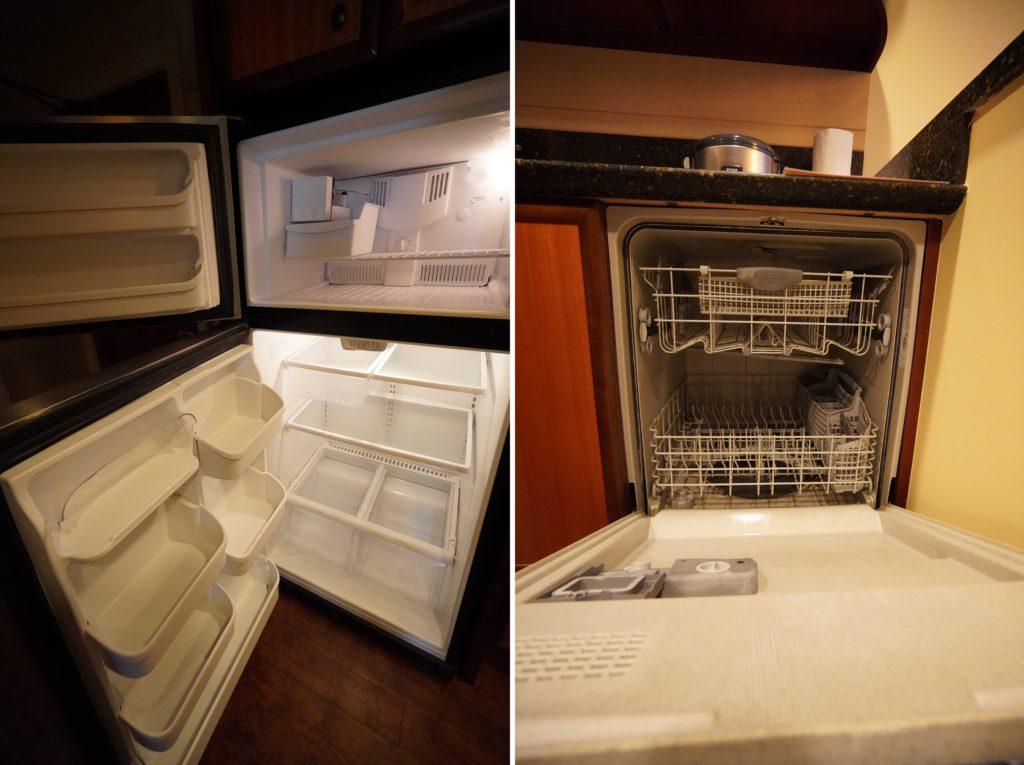 アウラニ 2ベッドルームヴィラ・オーシャンビュー キッチン(冷蔵庫・食洗器)