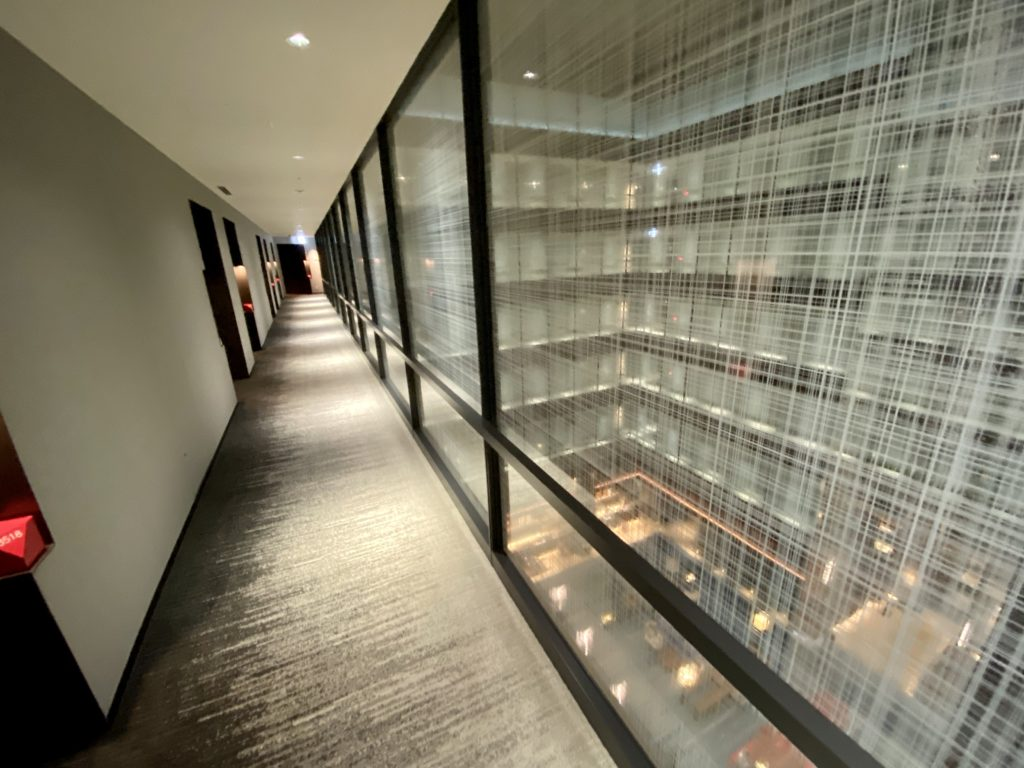 名古屋プリンスホテル スカイタワー の廊下
