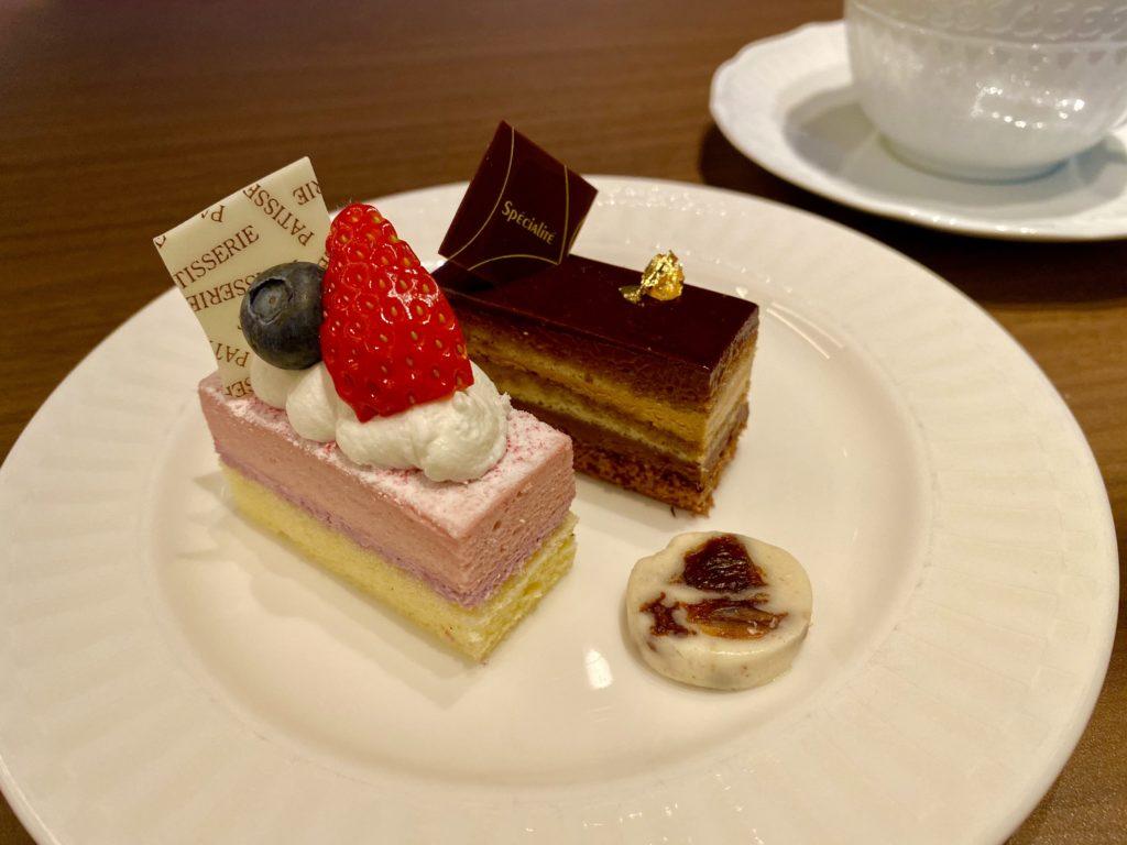 名古屋プリンスホテル スカイタワー クラブラウンジ ティータイム